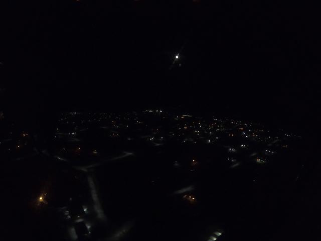 写真:イエローナイフの夜景