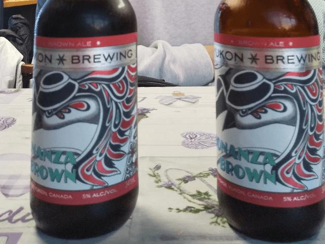 写真:「YUKON BREWING」(ユーコン準州の地ビール)
